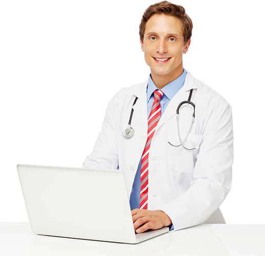 Telehealth Young Male Doctor